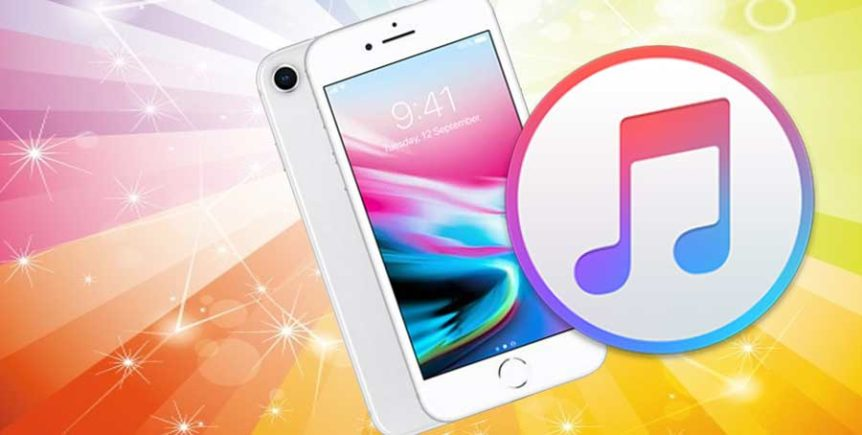 pic of iTunes Logo and an iPhone
